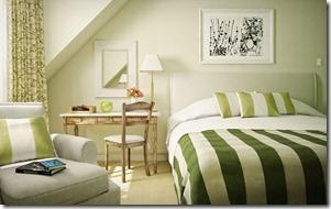 zaļa sienas krāsa