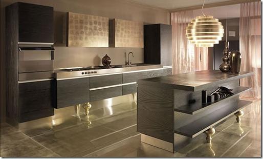 zelts virtuvē
