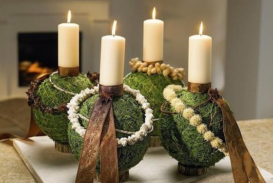 Adventes vainags - Weihnachtsdekoration zum selber basteln ...