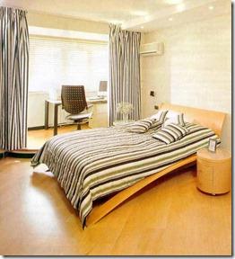 guļamistaba apvienota ar lodžiju