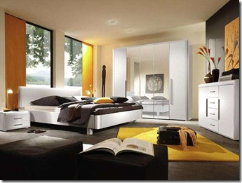dzeltenā krāsa interjerā