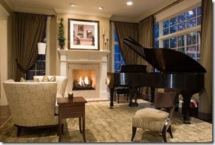 dzīvojamā istaba mājai