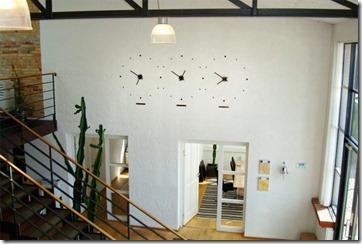 sienas pulksteņi
