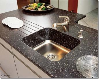 corian virsmas virtuvei