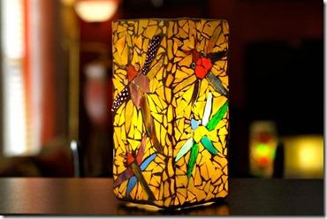 mozaika no stikla gabaliņiem