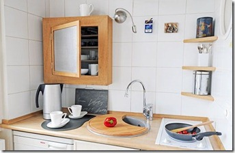 maza virtuve interjers