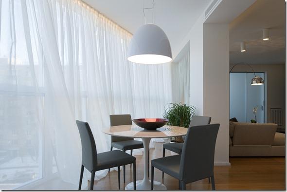 interjera dizains Maskavas dzīvoklī