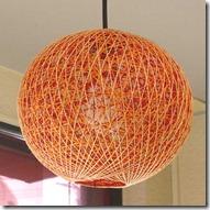 pašdarināts lampu abažūrs