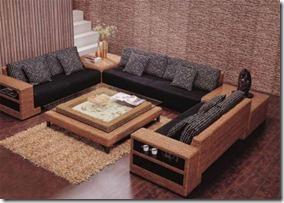 pītas mēbeles istabai
