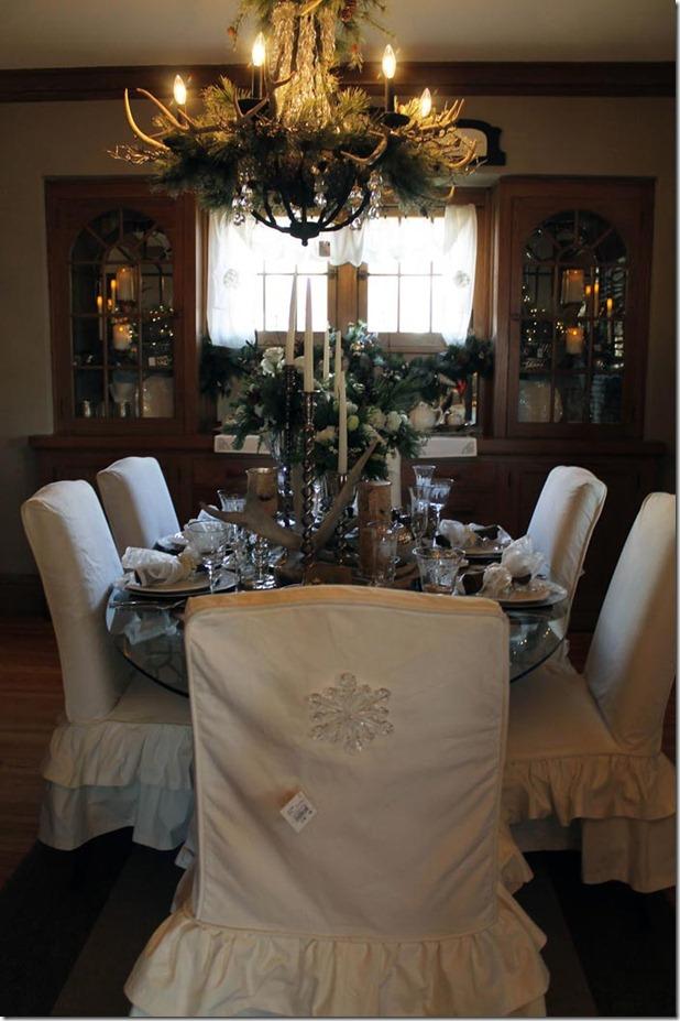 ziemassvētku galds