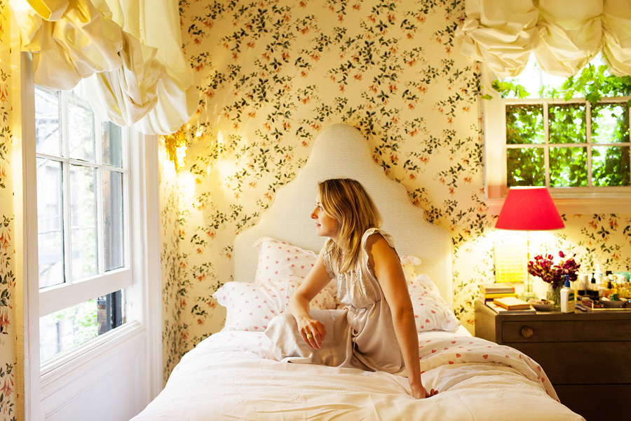 mājīga guļamistaba