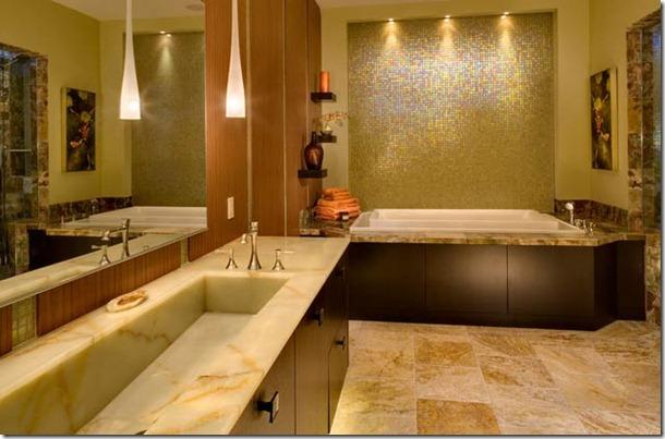 mozaikas flizes vannas istabai