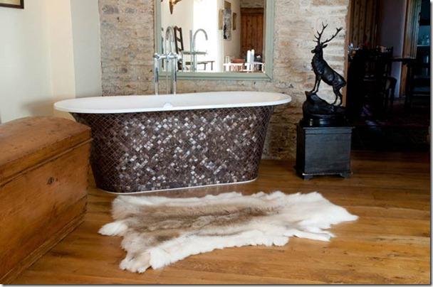 mozaikas flizes vannai