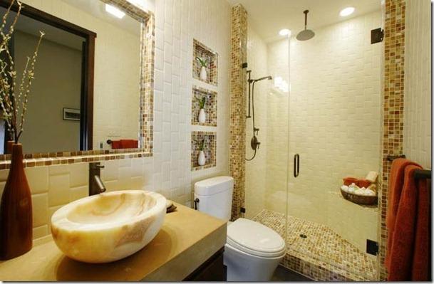mozaīkflīzes vannas istabai