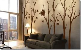 dekoratīvas sienas uzlīmes