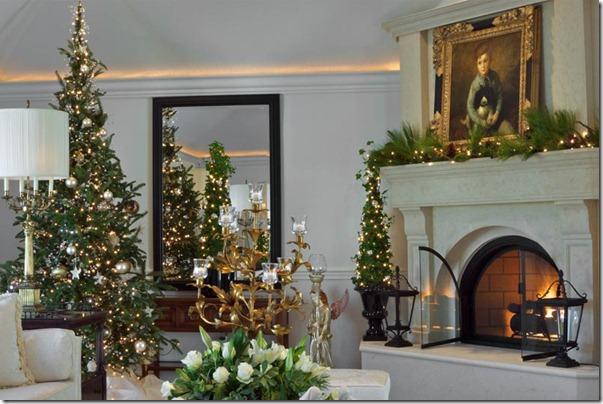 ziemassvētku interjera dizains no Wescott Baur