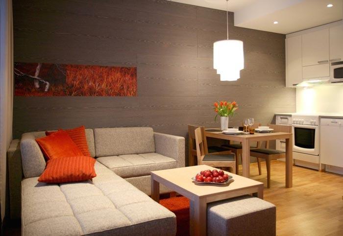 Funkcion ls interjera dizains How to combine living room and kitchen