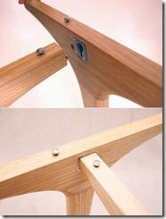 mehānisms transformējamam galdam