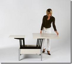 transformējams galds