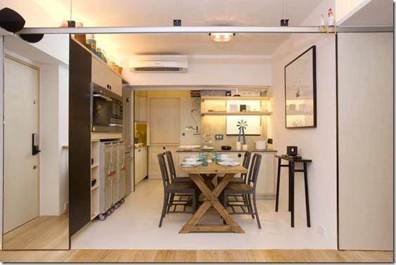 funkcionāls dizains dzīvoklim