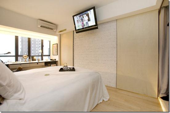 guļamistabas dizains dzīvoklim