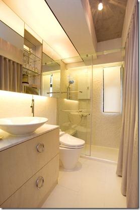vannas istaba lielam dzīvoklim
