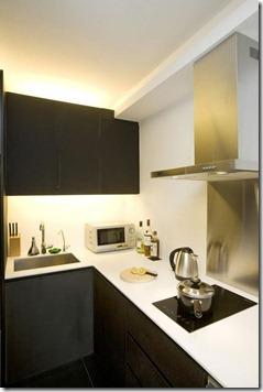 stūra virtuves iekārtojums